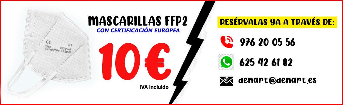MASCARILLAS FFP2 DENART